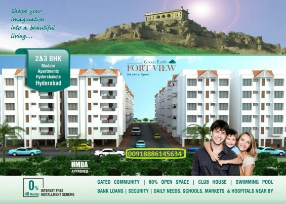 Flats in hyderabad, hmda approved, bank loan approved, gated community