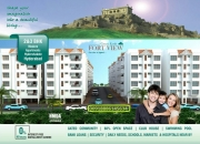 HMDA Approved Flats in Hyderabad, Gated community with Bank Loan Approved