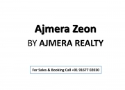 New-Launch Ajmera Zeon project by Ajmera Group in Wadala Call 9167702030