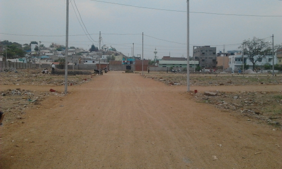Plot for sale in upperpally