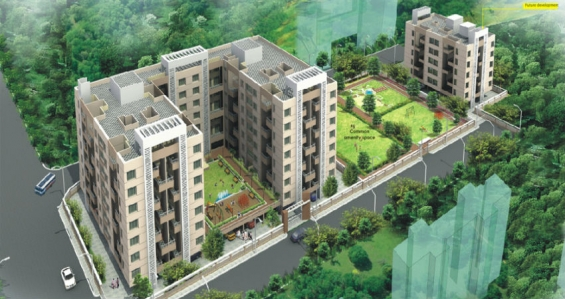 Alliance nisarg white lily at wakad pune offering 1 & 2 bhk flats for sale