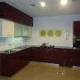 Customised Modular Kitchen with High Glass Finish