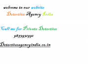 Detective agency india newdelhi