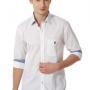 White Formal Shirt For Men