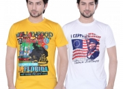Buy Mens Round Neck T-Shirt (Pack of 2) Online @ 599 Only
