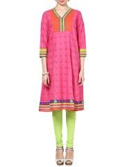 Elegant and trendy A-line kurtas at Rangriti. Best prices