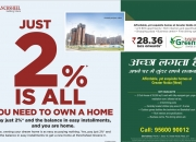 Get a new home at panchsheel greens 2 @ +91-9560090012