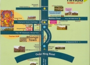 Residential open plots for sale at bhongir, yadagirigutta hyderabad - warangal (nh-163)