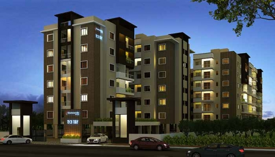 Concorde tech turf- flats for your choice in ecity phase1