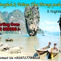 Attractive tour Package for Bangkok and Pattaya on Thai Airways