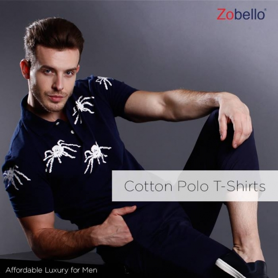 2427ca58 Buy men's printed polo t-shirts online in india at affordable price |  zobello.