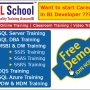 Practical Online Training on SSBI at www.sqlschool.com