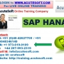 SAP HANA Online Training | Online SAP HANA Course
