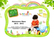 Admit kids at little oaks play schools in ecil
