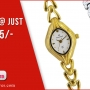 Buy Women Watches Online at Best Prices - Planeteves