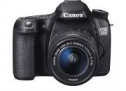 Canon DSLR 70D With Lens 18-55 MM