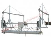 Suspended platform or working rope platform