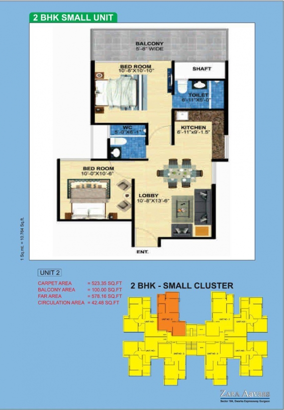 Pictures of Zara aavaas gurgaon zara awas affordable housing@ 7838486386/ 7838700306 4