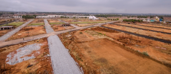 Bmrda approved premium villa plots on kanakpura main road