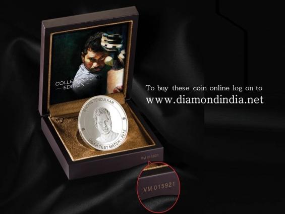 Sachin tendulkar limited collector's edition swiss silver,  price: ?21,999