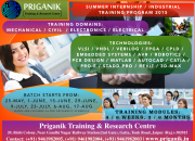 Training for diploma students in electronics, civil ,mechanical