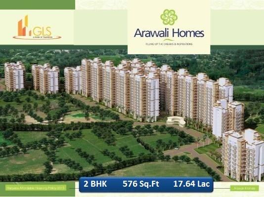 Gls arawali homes 2 bhk 17.636 lac sector 4 sohna gurgaon