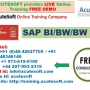 SAP BI/BW/BW7.4 | SAP BI  Online Training | SAP BW 7.4 Course