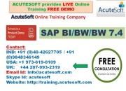Sap bi/bw/bw7.4   sap bi  online training   sap bw 7.4 course