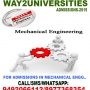 Admissions are opened for Mechanical Engineering 2015-16.
