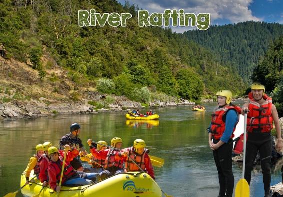 River rafting in rishikesh - arv holidays