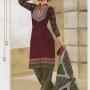 100% cotton salwar @ whole sale price brown & green colour.