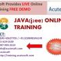 JAVA Online Training | Online JAVA Course
