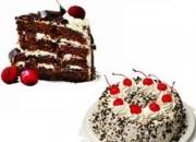 Send black forest online cake to hyderabad