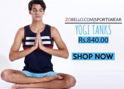 Yoga Tank Tops | Men's Tank Top Online India | Zobello.com