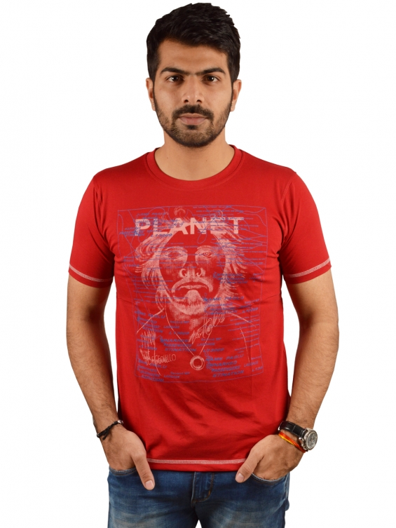 Casual wear tees at lowest price at ecosmic
