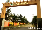 Newly developed gated community plots near Hosur IT Park Road at NBR Homes