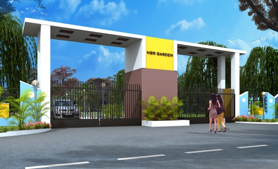 Villa plots now available at rs. 650/- sq.ft in nbr garden rv hosur