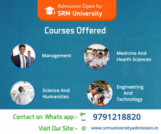 Admissions open in srm university for 2015 batch