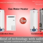 Blend of Technology- Instant Gas Water Heater with safety for your continuous hot water de