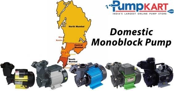 Domestic monoblock pumps dealers in mumbai