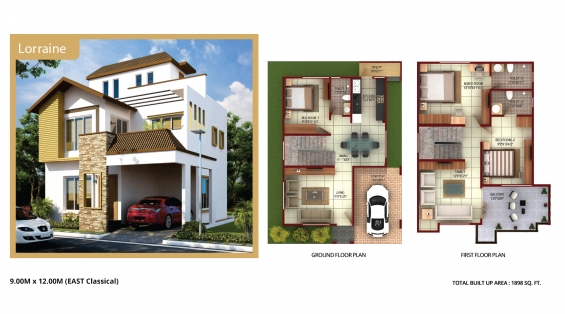 For sale: budgeted villa's and plots on kanakpura main road.