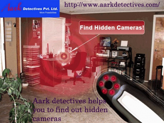 How to find a hidden camera with detective in bangalore