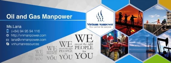 Oil and gas manpower from vietnam for any demands