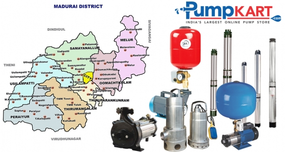 Pressure booster pumps and submersible pumps in madurai