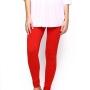 Red women legging