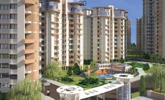 Prateek wisteria resale 9811220650 price sector 77 noida, layout flats
