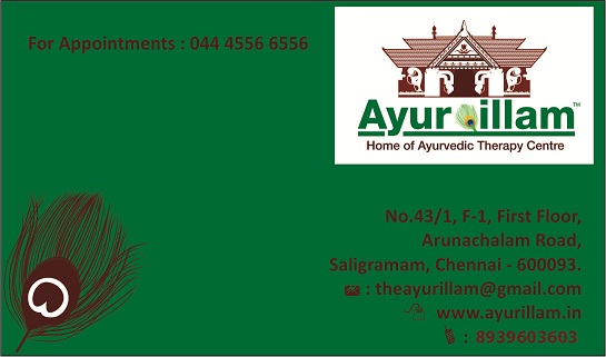 Ayurveda massage in chennai