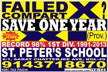 Failed x? save one year..