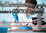 Genetic Engineering Admissions