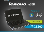 Used lenovo e520 laptop in good condition for sale